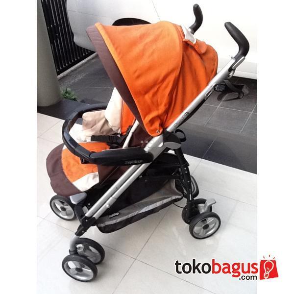 Jual Stroller PegPerego Pliko P3 Tropical Second