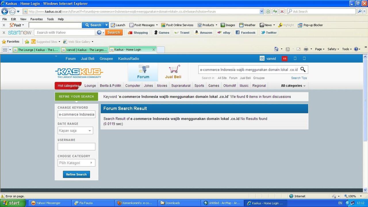 e-commerce Indonesia wajib menggunakan domain lokal .co.id [Kemenkominfo]
