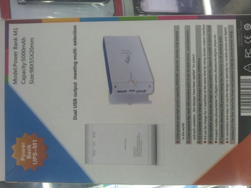 Power Bank Murah 5000mAh bergaransi