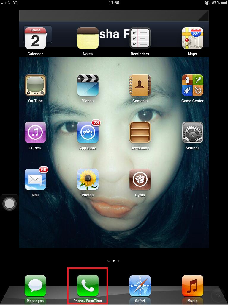 Jasa jailbreak, dan buat iPad 1 3G agan biar bisa SMS&TELP, MURAH bandung