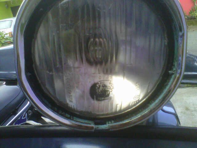 vespa super 1970 kepala bulet