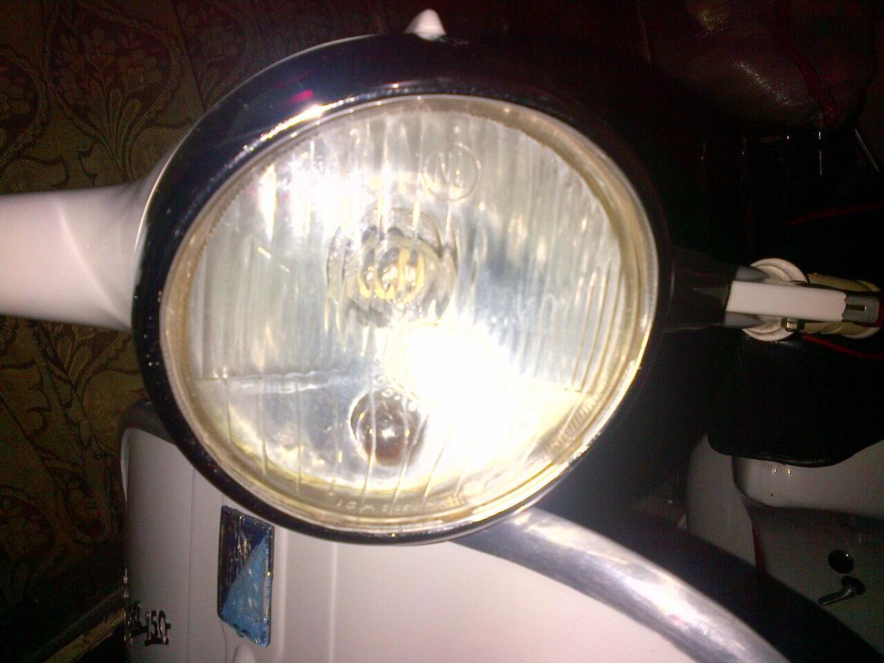 VBB 150 1962 tuker sama vespa LX 150