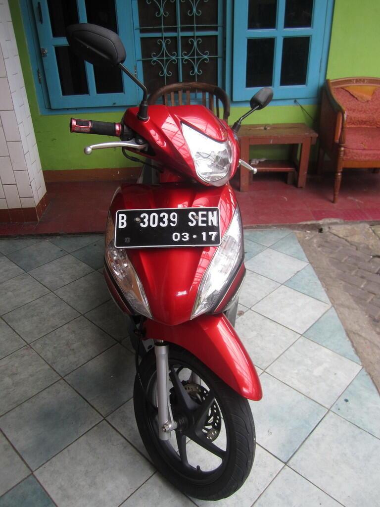HONDA SPACY 2012 MERAH - B DKI TIMUR