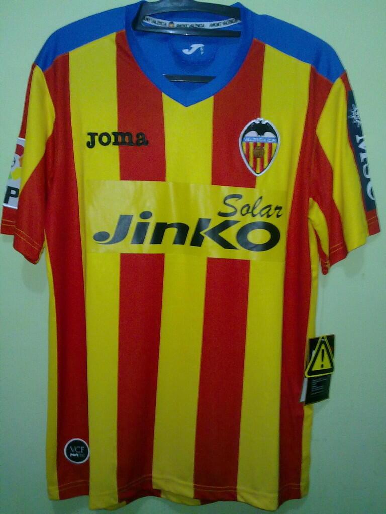 Jersey Grade Ori Valencia Away 2012/2013