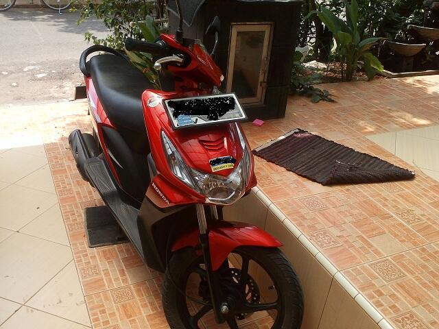 Jual Honda Beat 2009/2010 merah