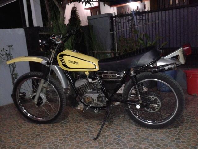Yamaha Trail DT 100 Enduro 1979