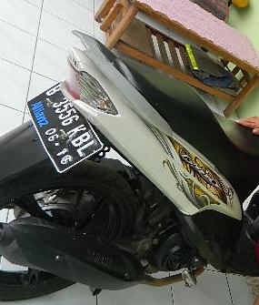 Yamaha Mio cw Putih (2011)