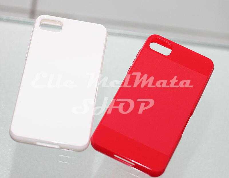 Aksesoris Blackberry Z10, Q10 baseus silicon transparan flip case Lumia 920 Casing