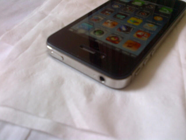 WTS iPhone 4S 32 Giga Black Fullset
