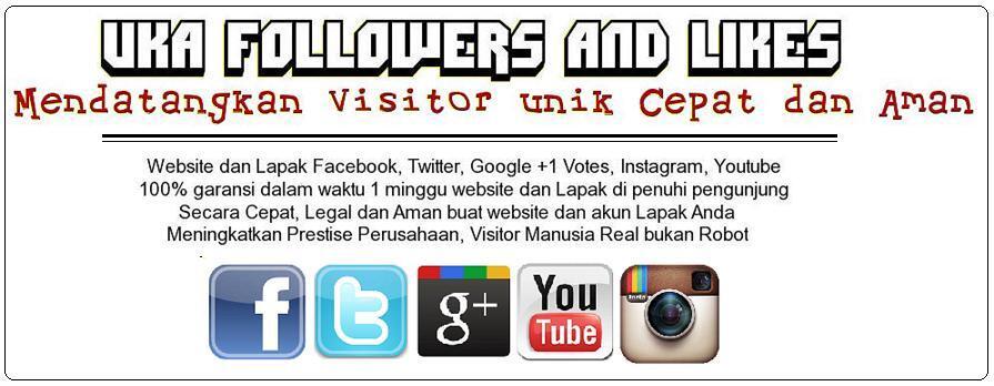 JASA MENDATANGKAN UNIK VISITOR (Follower/Fans/Page/Likes)Webst-FB-Twittr-Instagrm