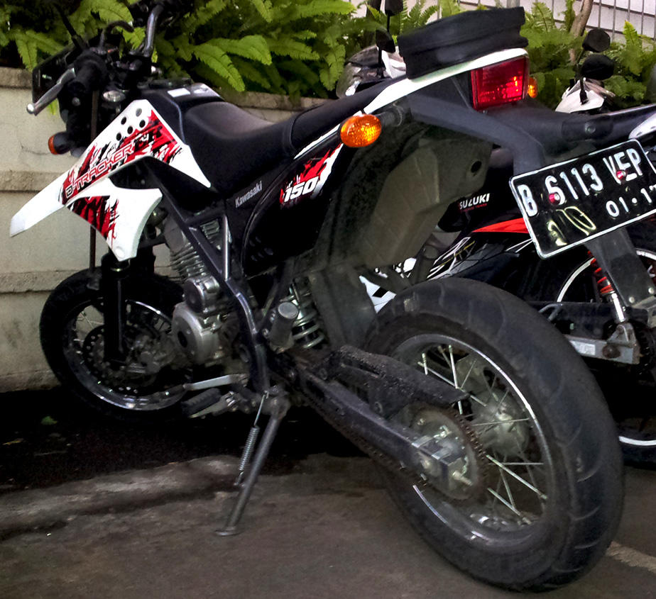 Kawasaki KLX 150 D Tracker