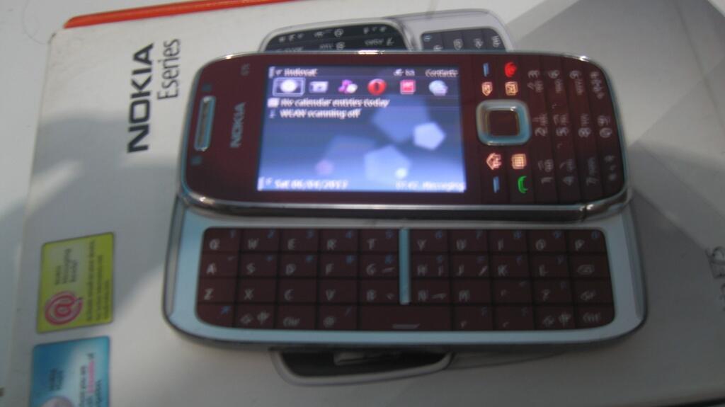 jual blacberry bb storm 1 dan Nokia E75