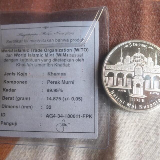 Jual-Beli Dinar-Dirham IMN dan WIN