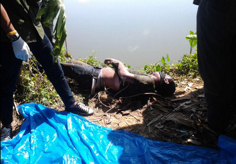 Corpse Find In A River