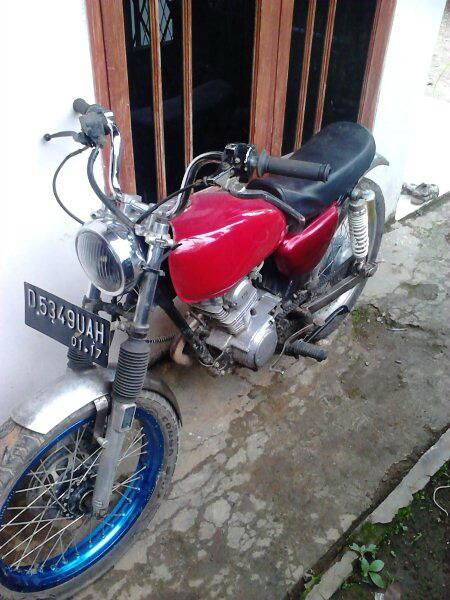 Honda GL125 thn 79 / Bandung