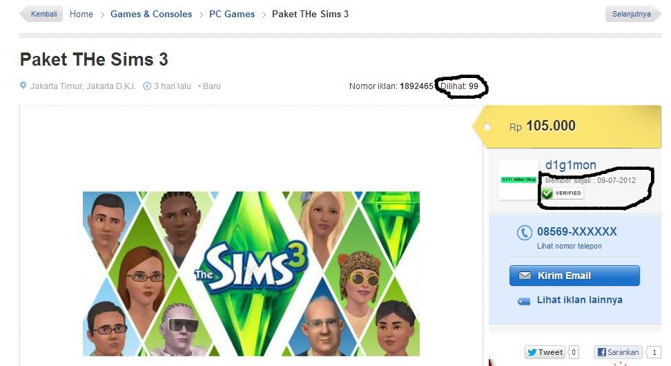 Paket The sims 3 expansion + the sims 3 stuff + the sims 3 store