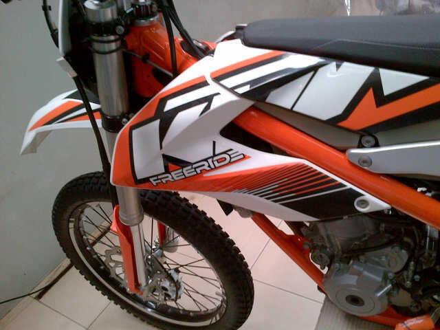 WTS : KTM FREE RIDE 2012, 350 cc