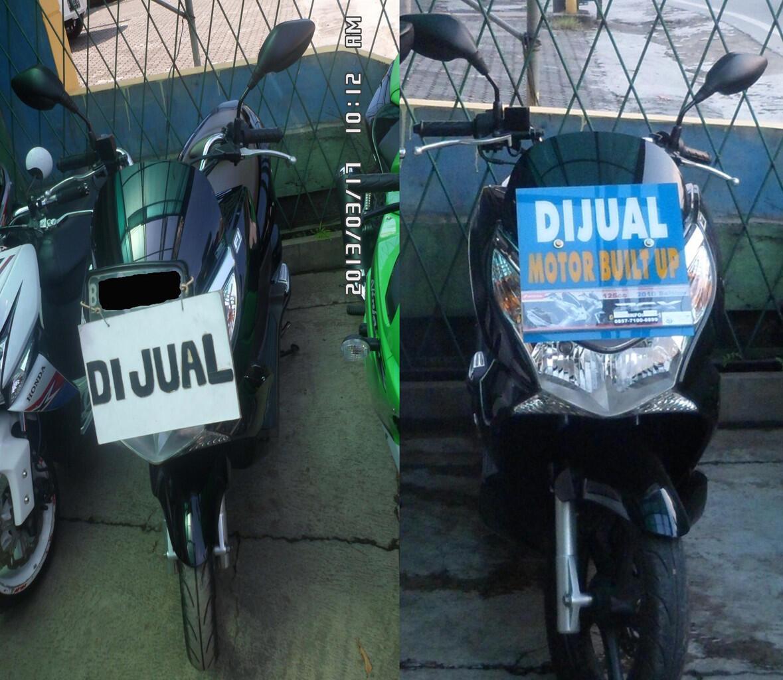 HONDA PCX Black 2010 - HOT ITEMS, Km Rendah n Pajak Panjang