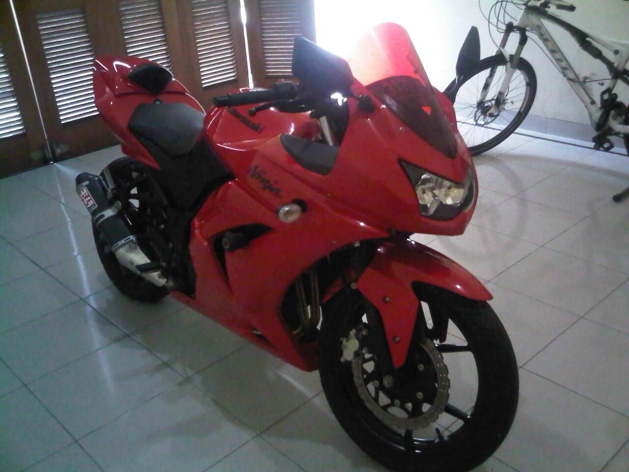 Jual Kawasaki Ninja 250R 2010 Gan!! Cekidot!