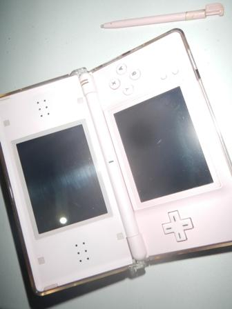 WTs : Nintendo Ds lite (NDS) Pink mulus + full games
