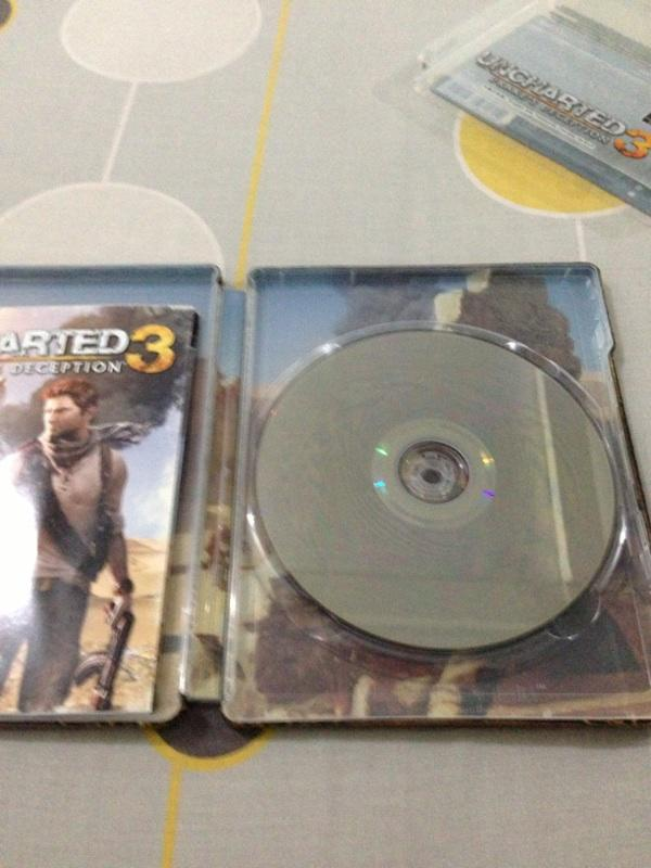 Wts game 2nd ps3: uncharted 3, mass effect 3 dan lainlain