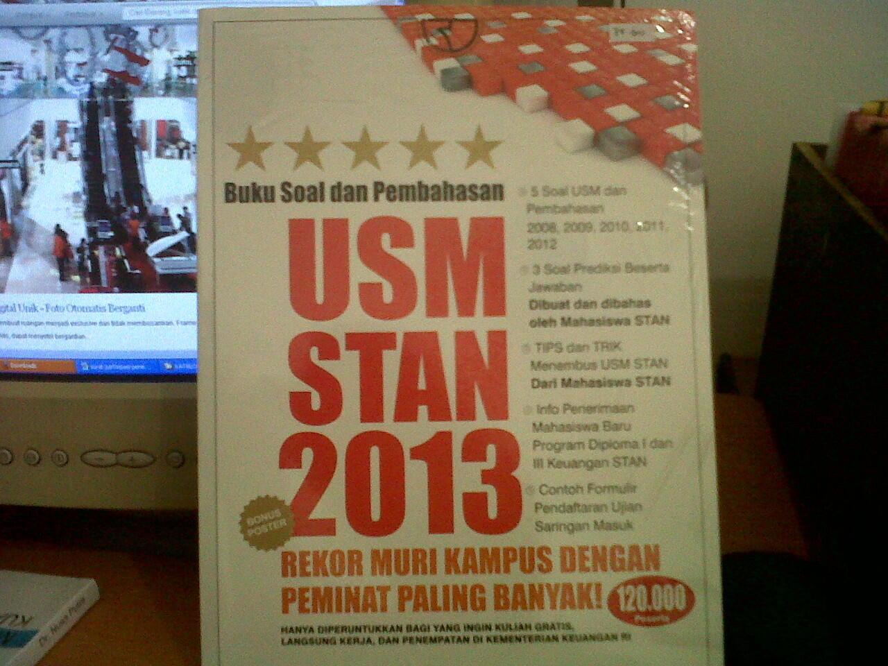 Buku Soal Dan Pembahasan USM STAN 2013 Lengkap