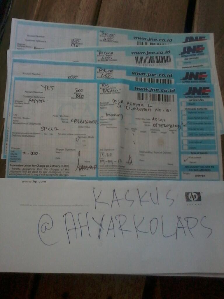 Cetak Stiker Vinyl