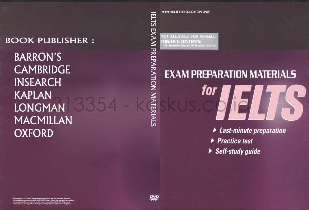 ►Koleksi eBook+Audio+Software Tes TOEFL,TOEIC,IELTS Paling Lengkap+Murah se-KASKUS◄