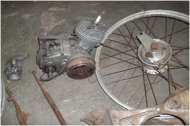 Sepeda Motor/Moped Zundapp Kopling Bahan