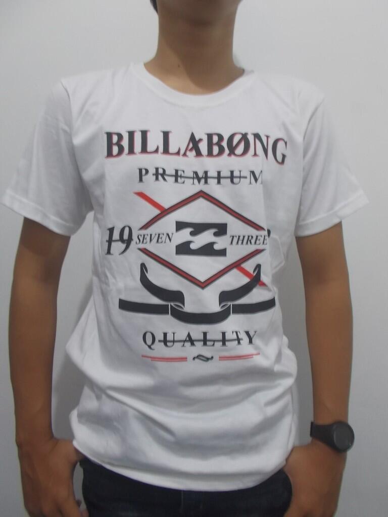 T-shirt Kaos Billabong, Quiksilver, Spyderbilt, Rip curl.