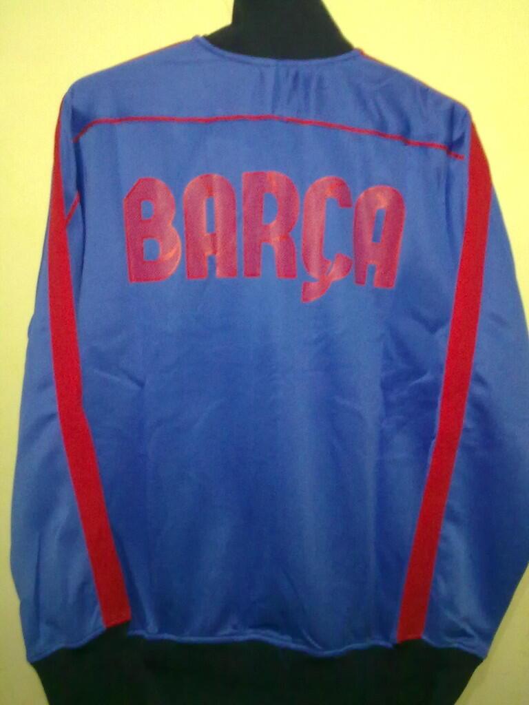 Jacket Grade Ori BARCELONA BLUE LIST RED