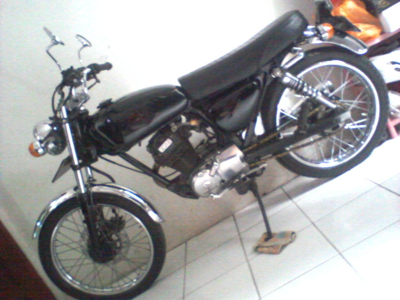 honda cb gl pro black engine 93 motor antik