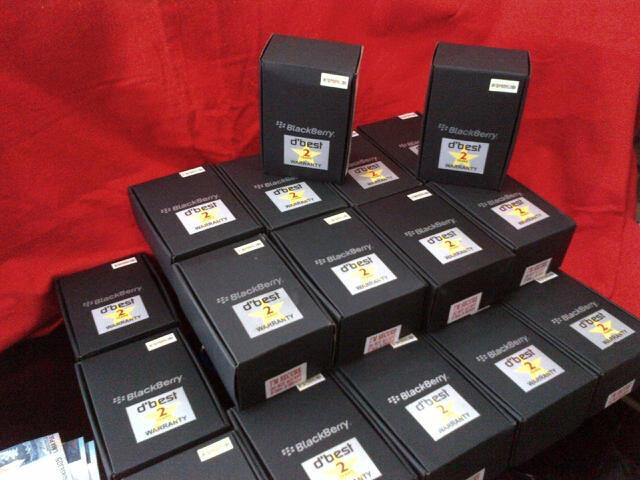 BLACKBERRY PEARL 3G 9105 Os.6 Cam 3.2MP Baru Garansi 2 Tahun