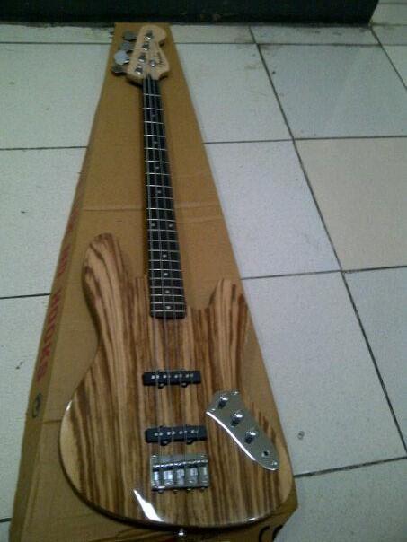 Jazz fender wood exotic
