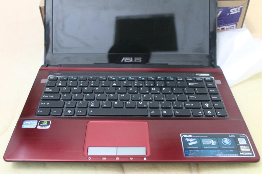 Jual Notebook Asus A43SD core i5 Sandybridge2450M VGA NvidiaGeforce GT610 Mantap abis