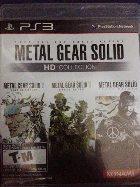 Kaset PS3 Ori Metal Gear Solid (HD Collection)