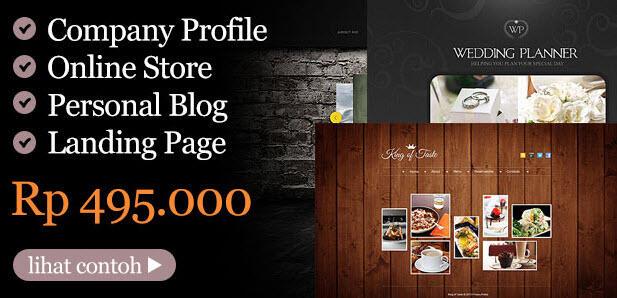 Terjual Jasa Pembuatan Website Jasa Pembuatan Website Toko Online