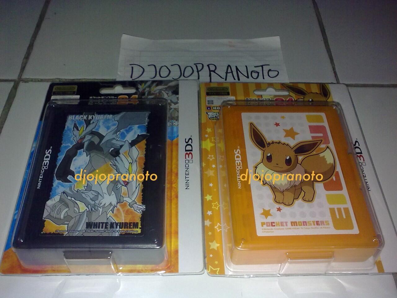 3DS Pokemon Game Cards Case 24 Limited Banget (Kotak Taruh Kaset 3DS Pokemon)