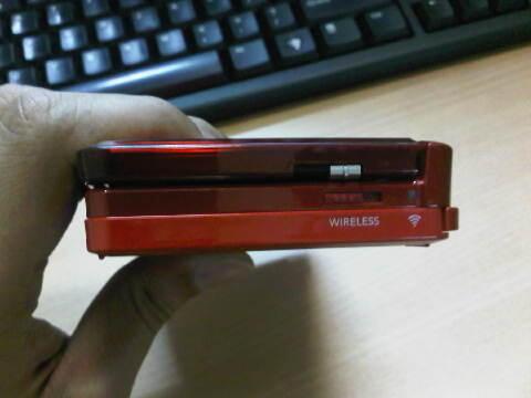 DIJUAL Nintendo 3DS Flame Red Merah Murah
