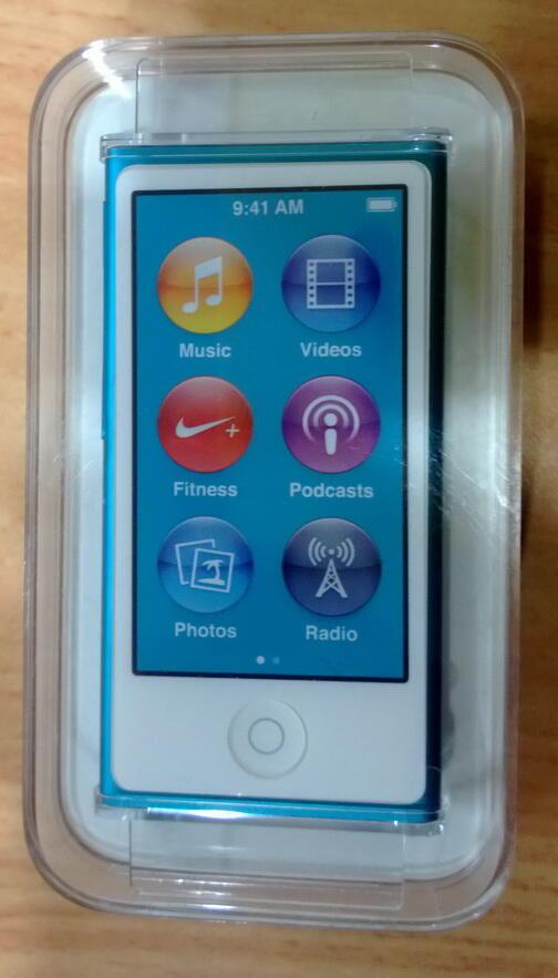 WTS : Ipod Nano 7th Gen Blue BNIB , Sony Vaio White 2nd C Series 14 inch