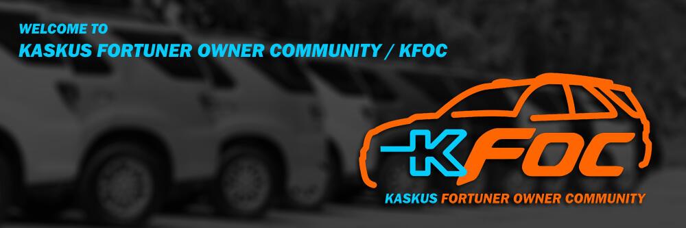 KASKUS Fortuner Owner Community - Part 4