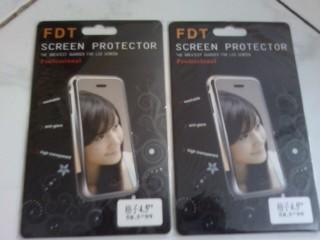 ANTI GORES Bening Clear Mirror spy glear Blackberry BB Samsung Nokia Tablet Freongkir