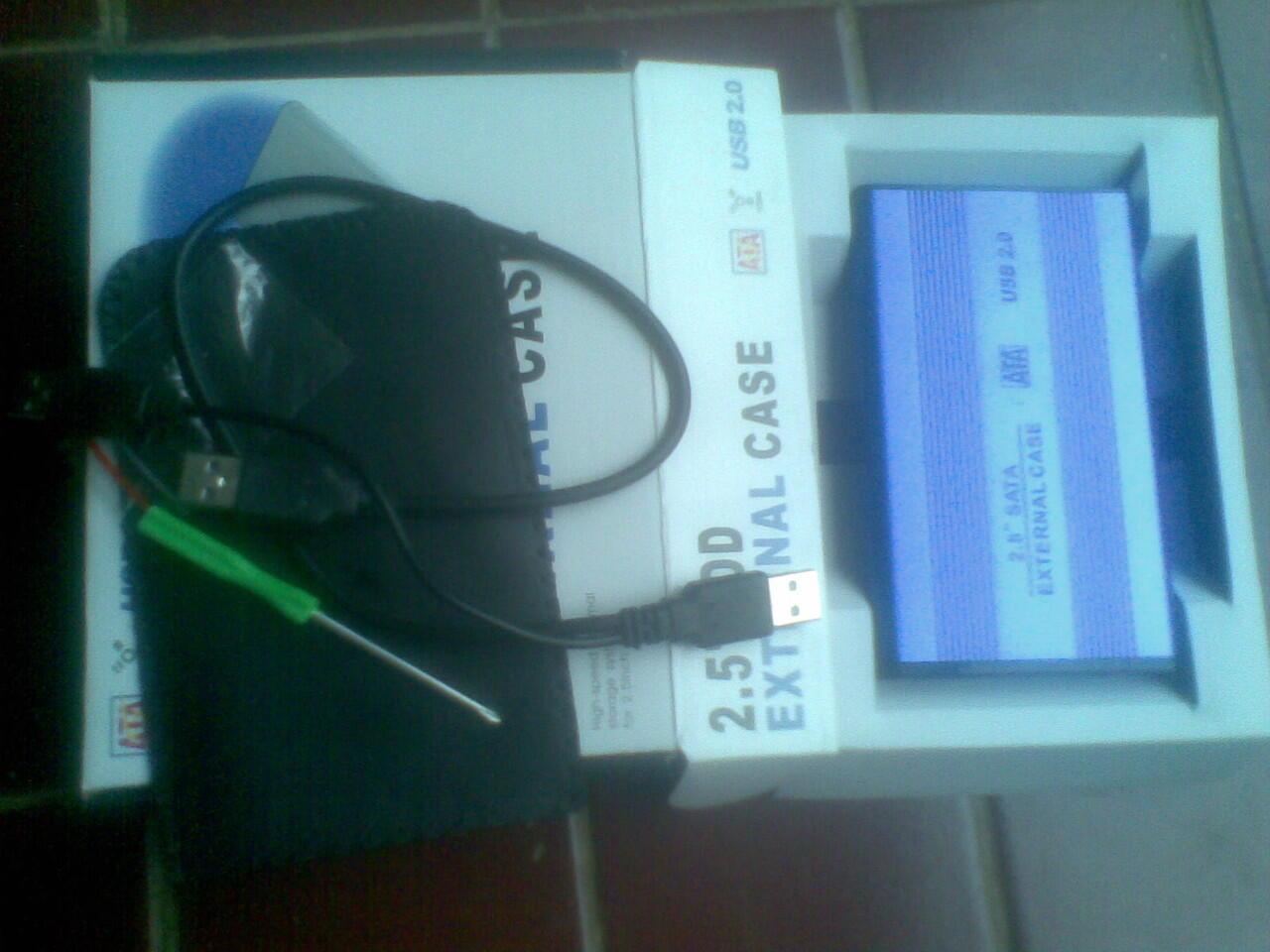 hdd external 640G