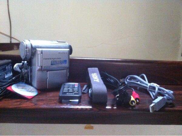Jual Handycam MiniDV Sony DCR-PC350E