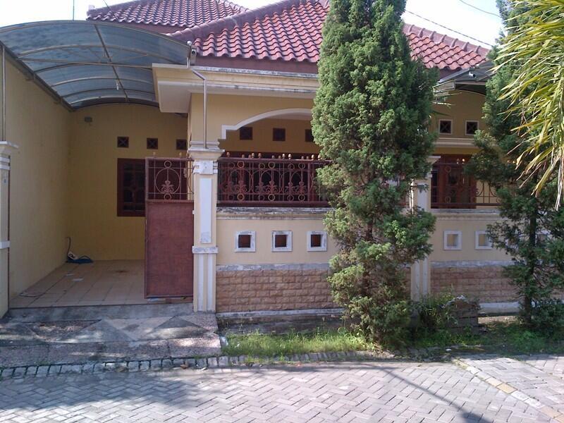 Dijual Rumah Asri Siap Huni di Pusat Kota Sidoarjo JATIM