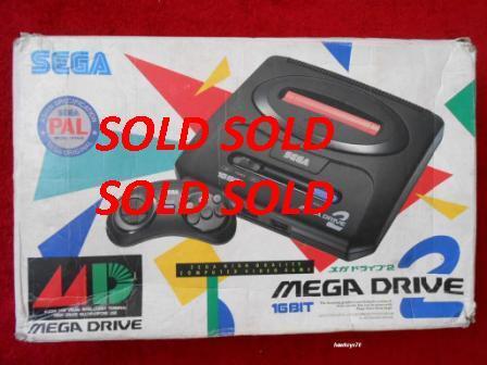 SEGA MEGA DRIVE 2 with BOX