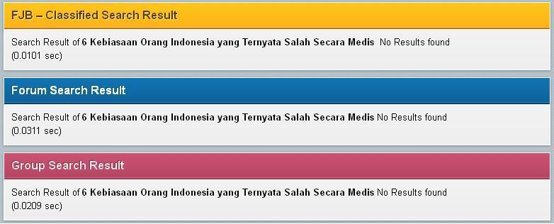 6 Kebiasaan Orang Indonesia yang Ternyata Salah Secara Medis