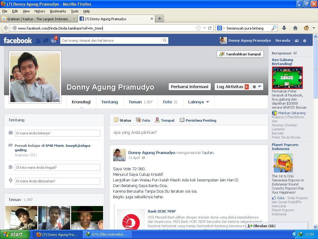 Tukar Facebook Ku Dengan Cendolmu Friend 2000++