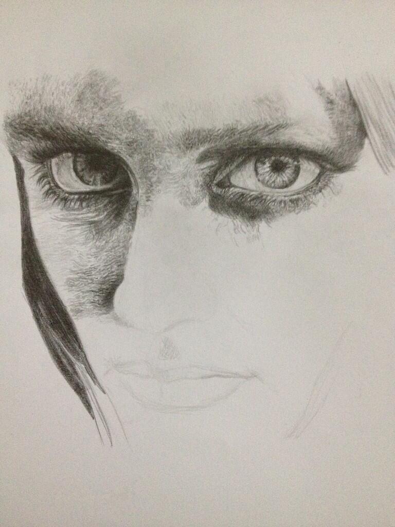 Gambar Menggambar Sketsa Wajah Pake Pensil Karya Ane Sendiri Nih