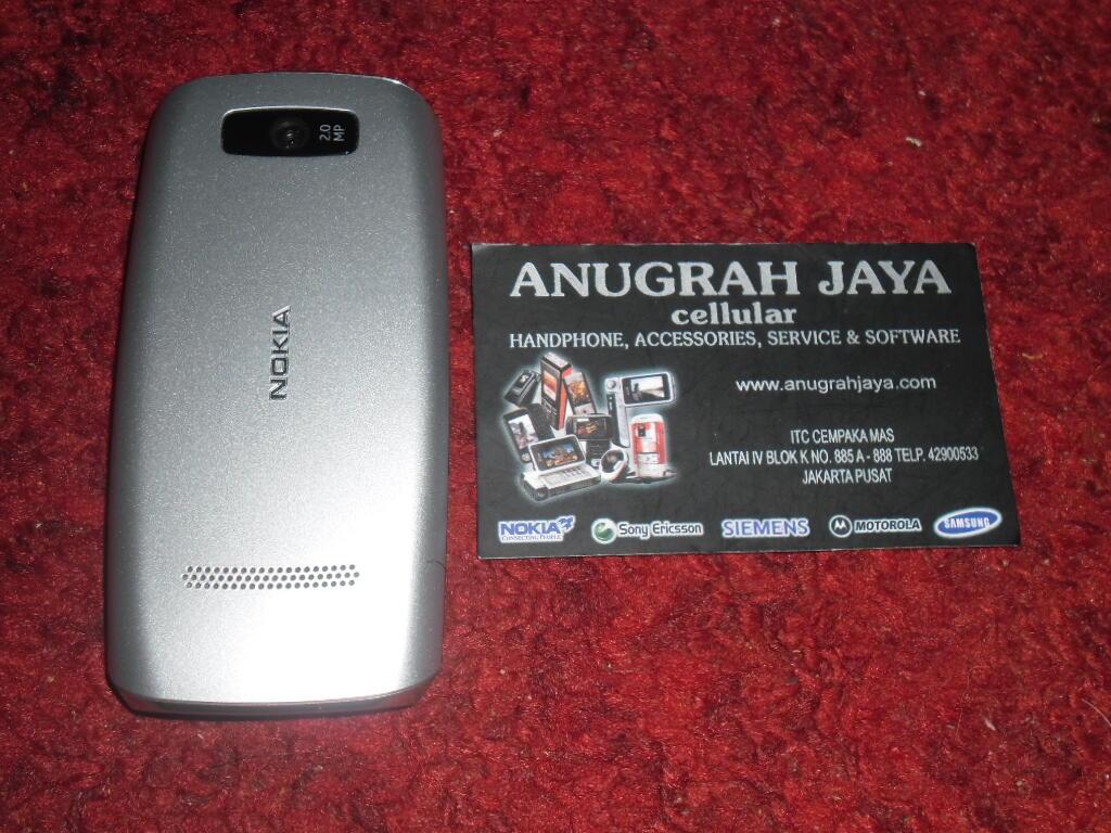 Nokia Asha 305 Second Mulus 95%, Lengkap, Masih Garansi Nokia Resmi s/d Maret 2014